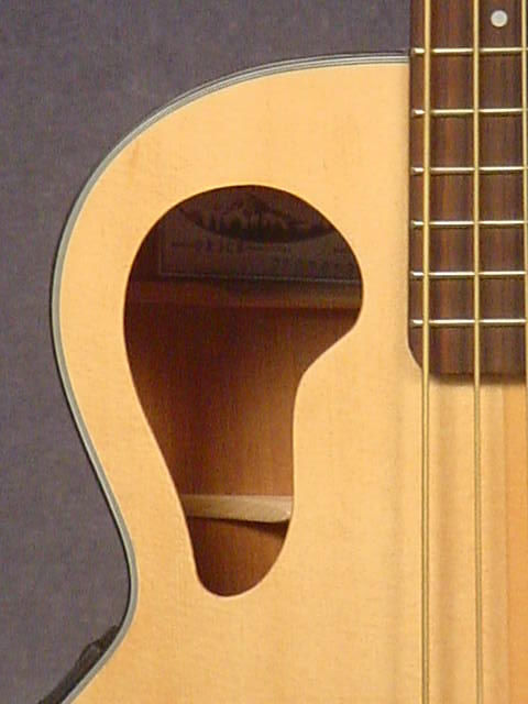 Offset Soundhole Guitars The Cavan Project