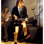 Angus and Malcolm Young - short musicians