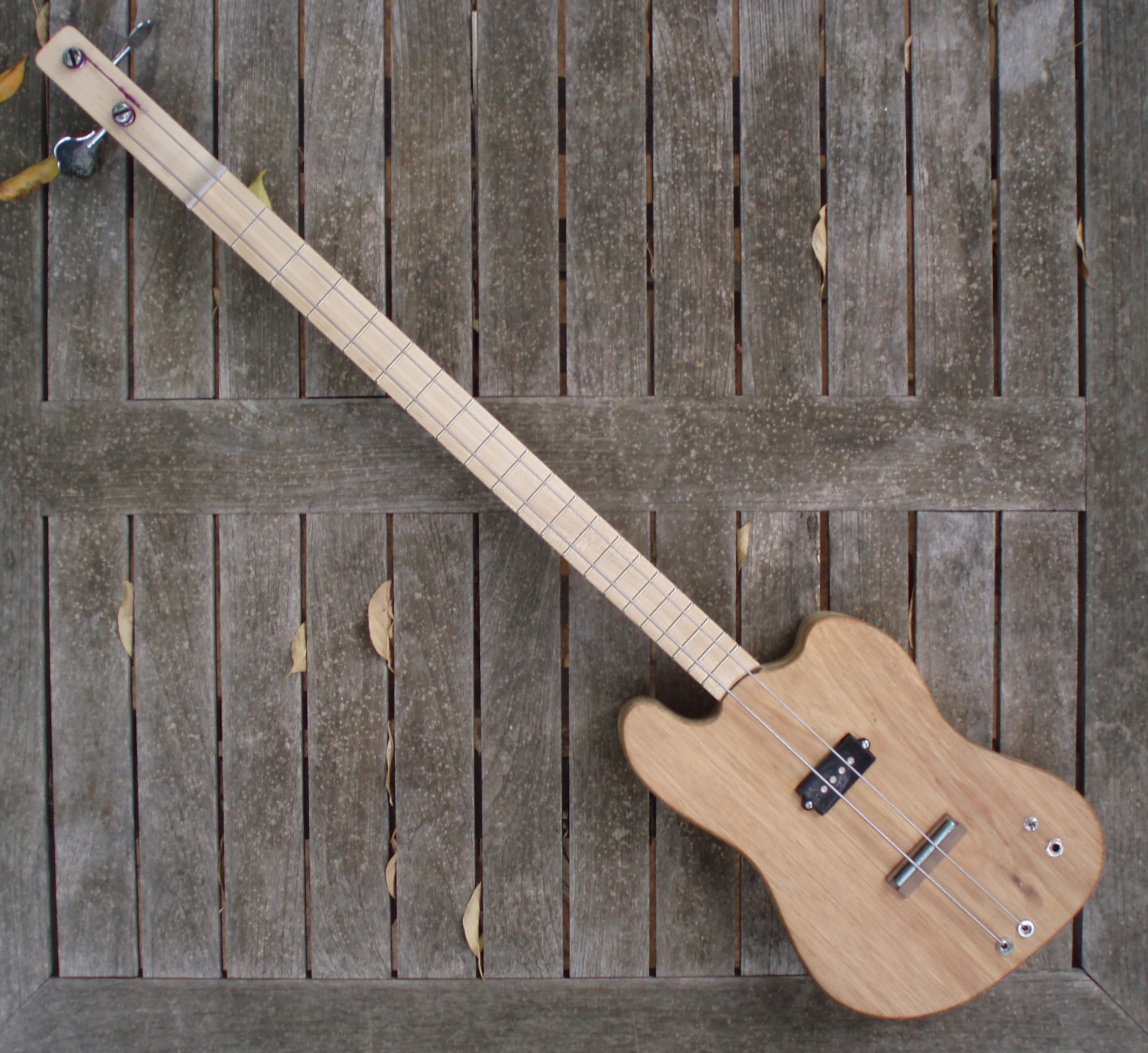 2-string cigar box bass