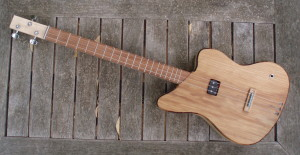 3-string cigar box guitar full