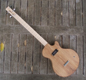 4-string cigar box guitar